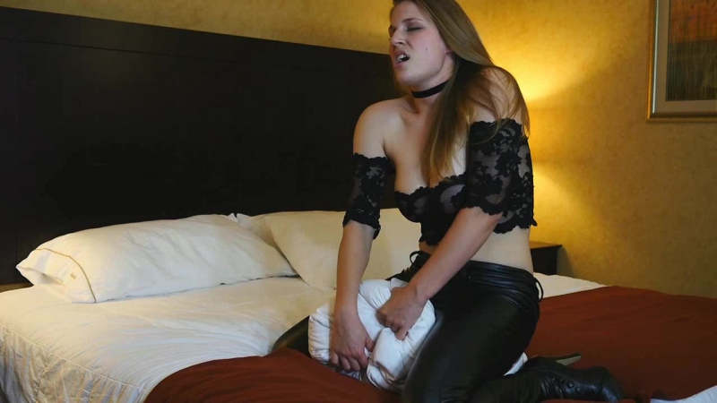 Xev B - Leather Pillow Humping