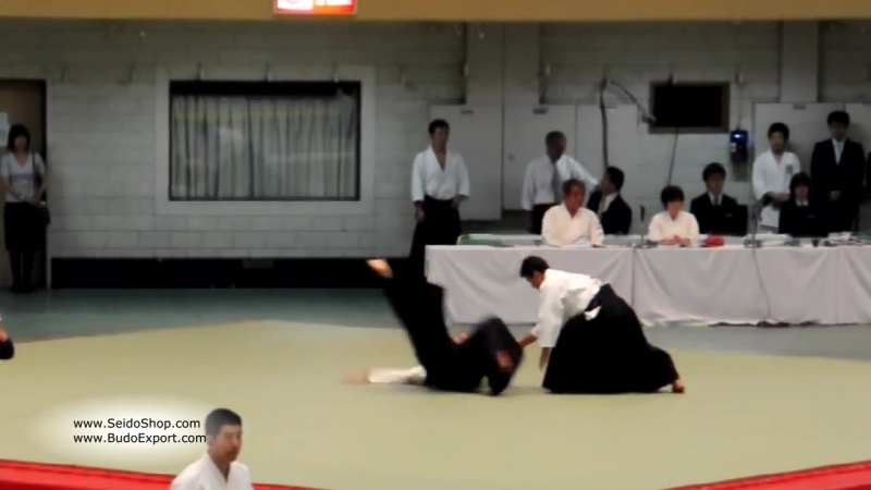 Kanazawa Takeshi Shihan, 7th Dan - 53rd All Japan Aikido