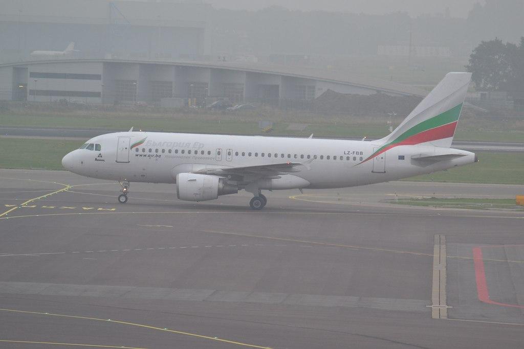Аэробус, участвовавший в инциденте