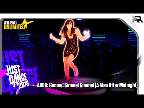 Just Dance Unlimited - ABBA: Gimme! Gimme! Gimme! (A Man After Midnight)
