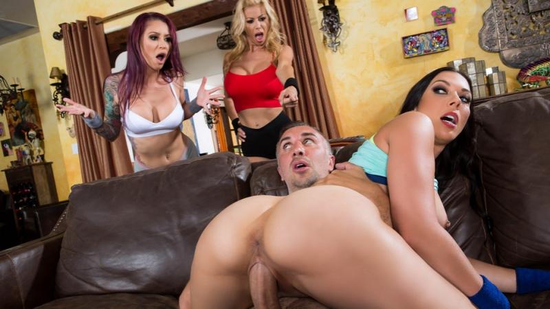 Alexis Fawx, Monique Alexander, Rachel Starr [HD 1080, Big Ass, Big Tits, Bubble Butt, MILF, POV, Squirt, New Porn 2017]