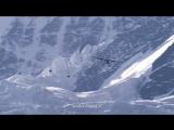 Два французских экстремала спрыгнули с вершины горы и влетели в самолёт на ходу