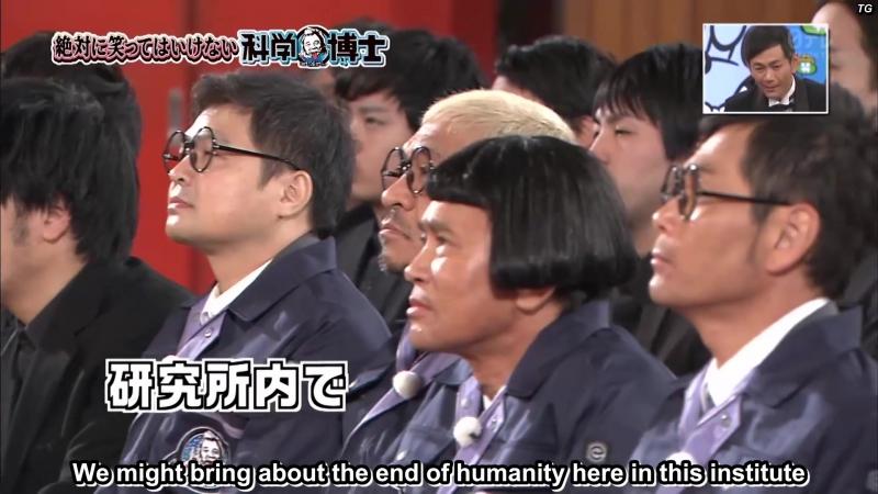 (ENG SUBBED) Gaki no Tsukai SP (2016.12.31) - No-Laughing Scientist Batsu Game Part 3 (絶対に笑ってはいけない科学博士24時 (3/3))