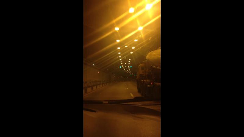 Красотища🤗 Тоннель в Сочи.
