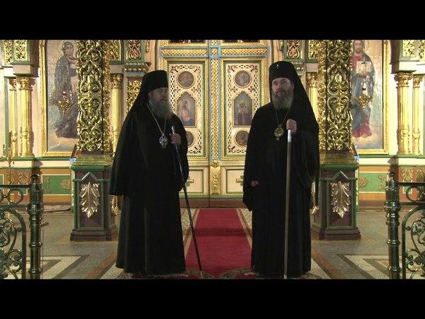 Проповедь архиепископа Юстиниана и епископа Максима в Вознесенском соборе