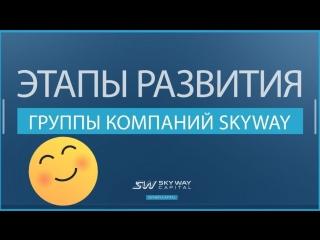 Этапы развития группы компаний SkyWay c 2014 г. по 2017 г.
