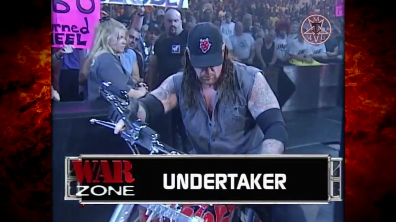 The Undertaker Kane vs Edge Christian Raw 06.26.2000