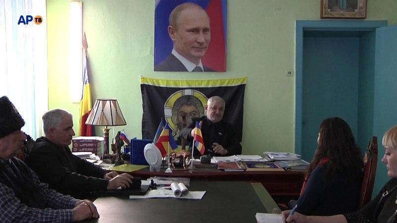 Пресс-конференция Атамана Козицына по результатам выборов Президента Российской Федерации