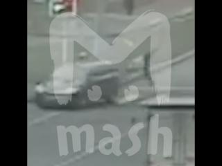 Пенсионер-гонщик сбил мужчину на пешеходном переходе в Москве