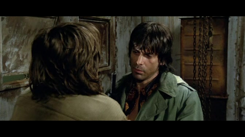 «Почти человек» (1974) - боевик, триллер, криминал. Умберто Ленци