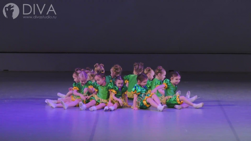 Детские танцы, группа 4-5 лет