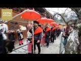 Народность мяо в провинции Гуйчжоу отмечает Новый год