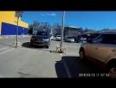 Ростов-на-Дону 14 Линия гипермаркет Лента нарушение ПДД на парковке для инвалидов.