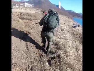 Учения морпехов на Камчатке