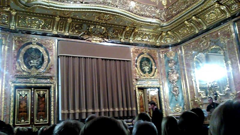 Por una Cabeza (Carlos Gardel) в интерьерах Дворца