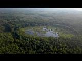 Болото оригинальной формы и структуры на Светлояре ,- 500 м от Трех Крестов и Кибелька