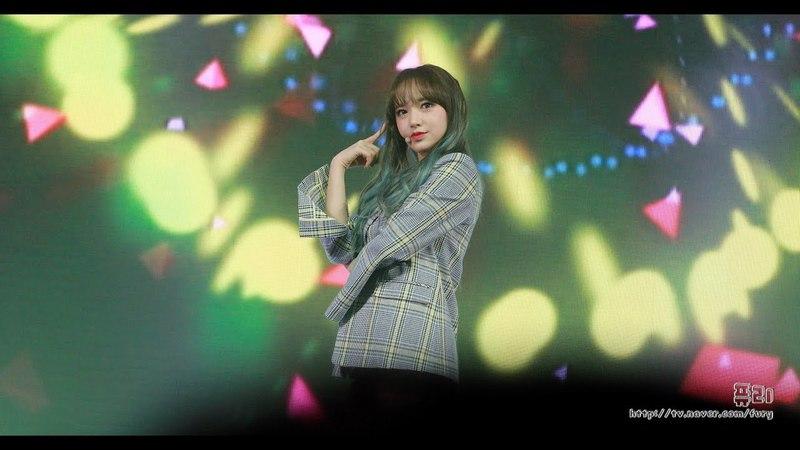 [Fancam] 180325 Wonder Girls - Tell me, SNSD - Gee, Kara- Mister covers UZZU PARTY Fanmeeting @ Chengxiao