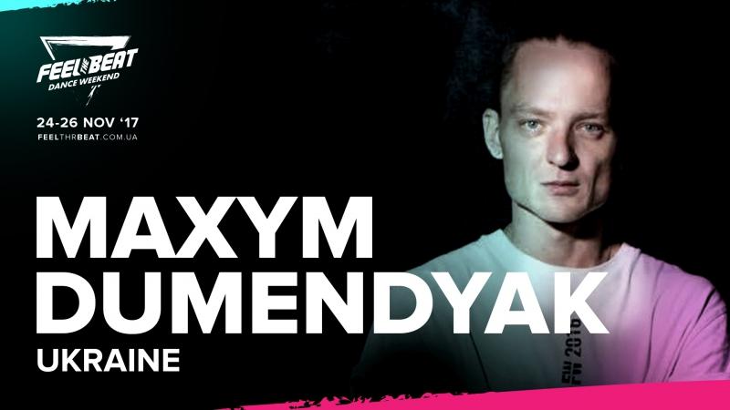 Max Dumendyak at Feel the Beat