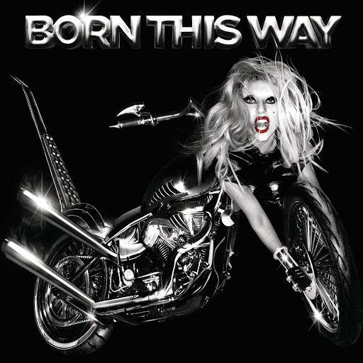 Lady Gaga альбом Born This Way (International Standard Version)