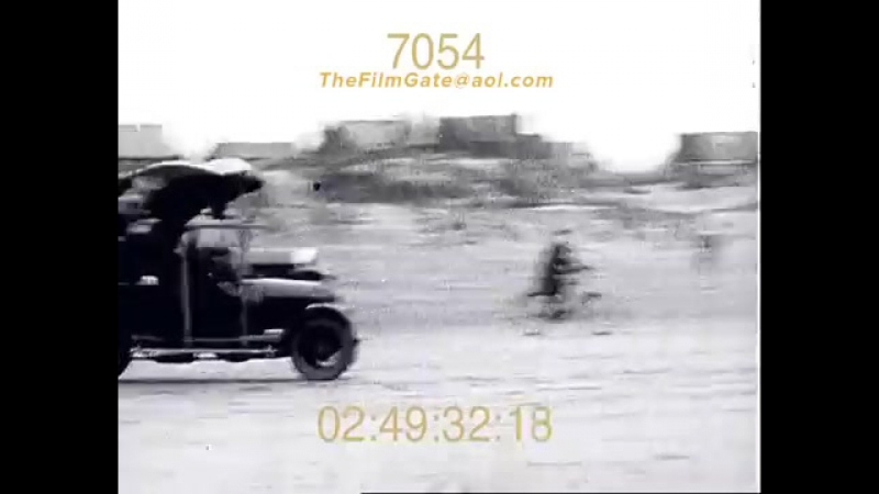 Early Flying Failures Stock Footage - The Film Gate 1920-1930.