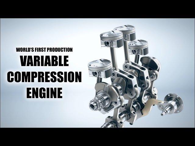 INFINITI Reinvents The Gasoline Engine — VC-Turbo