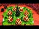 Вкусная закуска Деды Морозы - Праздничные рецепты Как красиво оформить стол