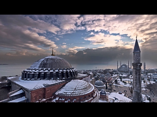 Turkish Airlines 5 Centuries Later 4 Seasons in Istanbul from Sinan's Minarets