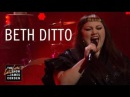 Beth Ditto - Fire lice at The Late Late Show with James Corden 2017