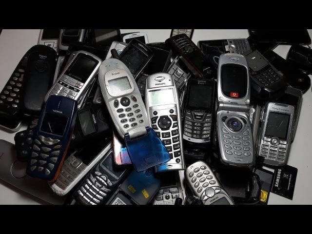 75 Телефонов из Германии за 25$ часть 2 nokia lg sharp samsung sony ericsson sagem siemens
