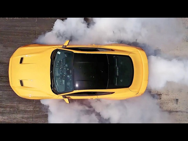 Ford Mustang (2018) Line-Lock for Awesome Burnout [YOUCAR]