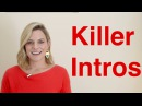 How to Start Your Presentation 4 Step Formula for a Killer Intro