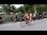 Велосипедная разминка по Камале Пхукет Bike warm up in Kamala Phuket
