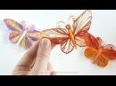 Papillon en QUILLING - Tuto avec Gabarit à imprimer