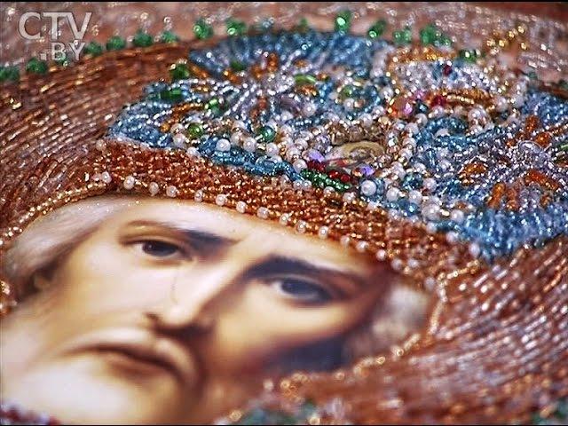 CTV.BY Тамара Богданова, мастер нетрадиционной художественной вышивки Создание икон излечило меня!