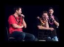Миша, Джаред и Дженсен на конвенции в Гонолулу русские субтитры