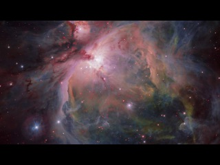 Zooming in on the Orion Nebula