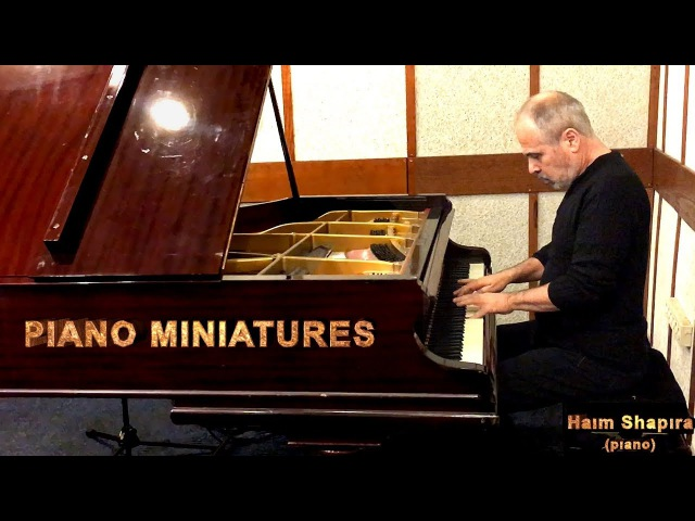 PIANO MINIATURES Haim SHAPIRA