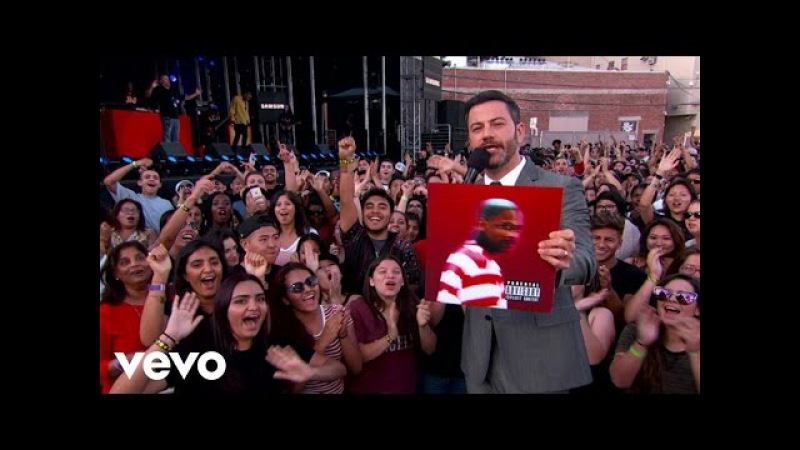 YG - Why You Always Hatin Still Brazy (Live From Jimmy Kimmel Live!) ft. Kamaiyah
