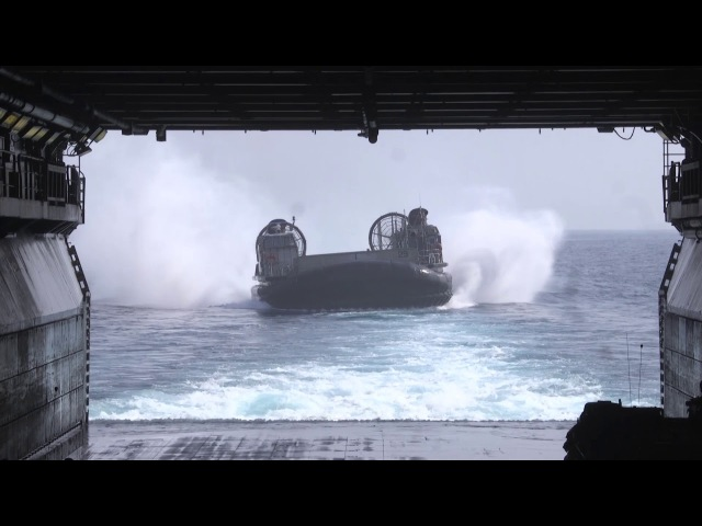 LCAC Operations aboard USS Bonhomme Richard (LHD 6) Exercise Cobra Gold