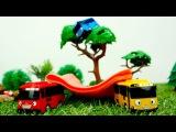 Тайл маленький автобус. Видео для детей. Диди ТВ