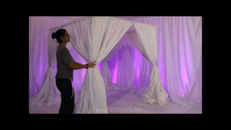 How to Setup a DIY Canopy