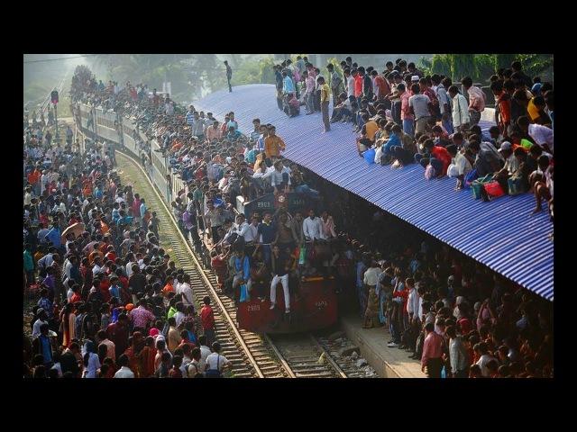 Бангладеш Жизнь на железной дороге