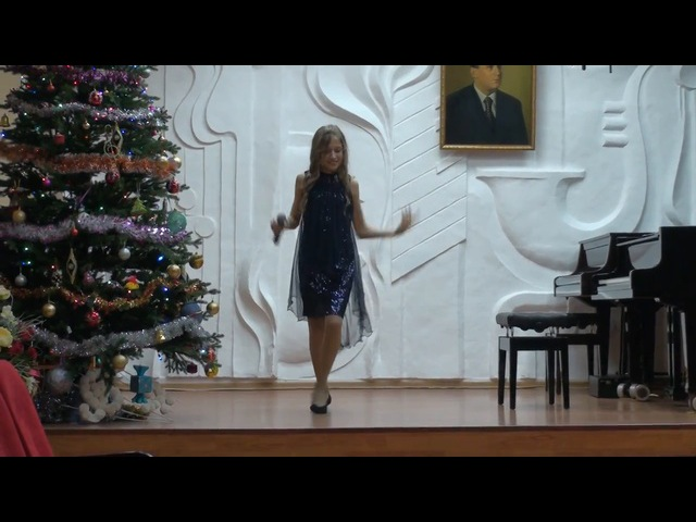 Ксения Даильнева- Rockin' around the Christmas tree Акция Я талант 6 сезон