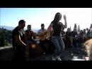 Mirador San nicolas Albaycin en Granada Alhambra, rumba improvisada con Gitanos Lisa carmen