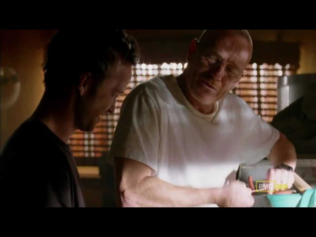 Breaking Bad - 2x09 - The Wire Scene