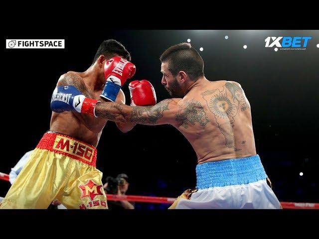 Лукас Матиссе — Тева Кирам за титул WBA   Полный бой, Нокаут   27 января 2018