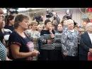 Павел Грудинин отвечает на вопросы работниц фабрики Большевичка