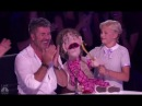 Darci Lynne Her Naughty Old-lady Puppet Edna Makes Simon Cowell BLUSH!! Americas Got Talent 2017
