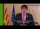 Carles Puigdemont refuse de briguer un nouveau mandat à la tête de la Catalogne