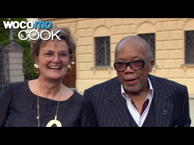 Quincy Jones Placido Domingo in St. Emmeram Castle | Cuisine Royale